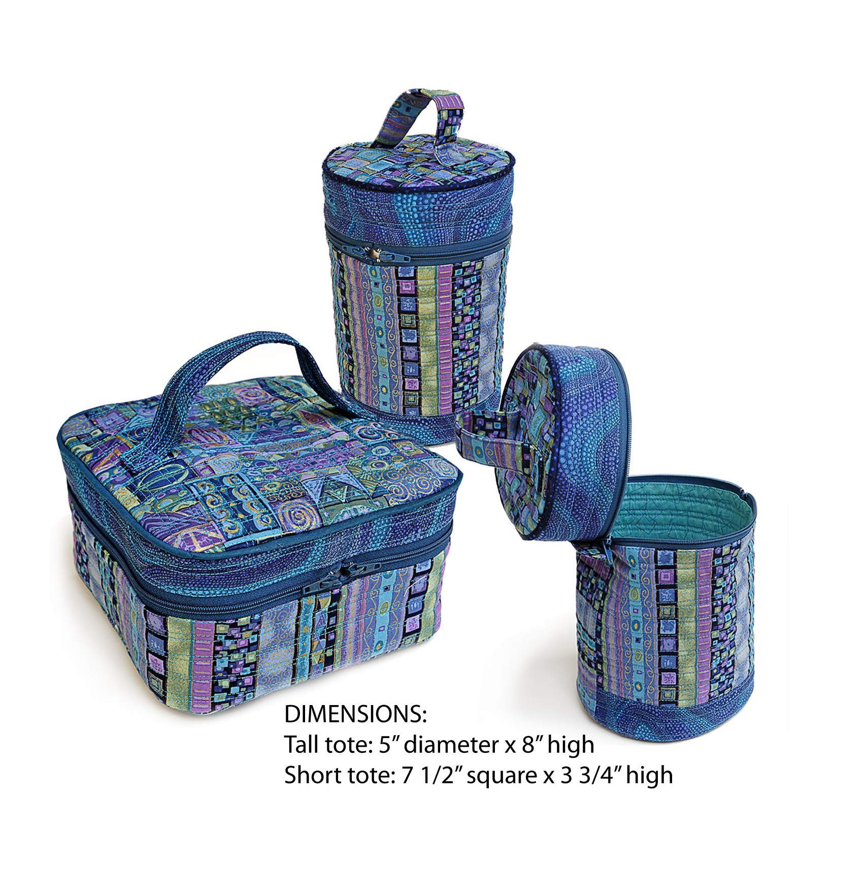 009 Travel Totes - Blue