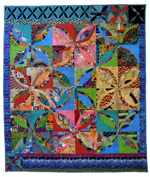 014 Double Wedding Ring Quilt Fun Easy Designed