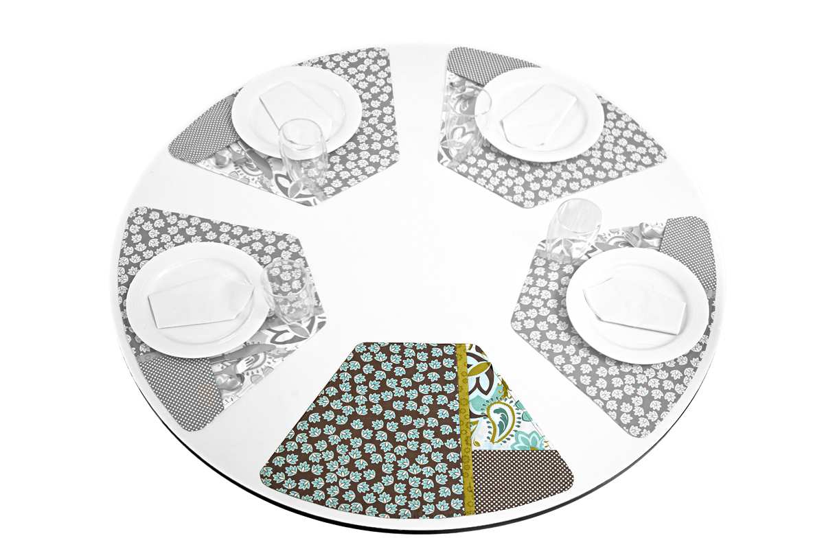 Placemat Patterns For Round Tables Starrkingschool